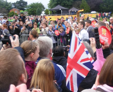 Olympic Torch Relay - Leicestershire 8