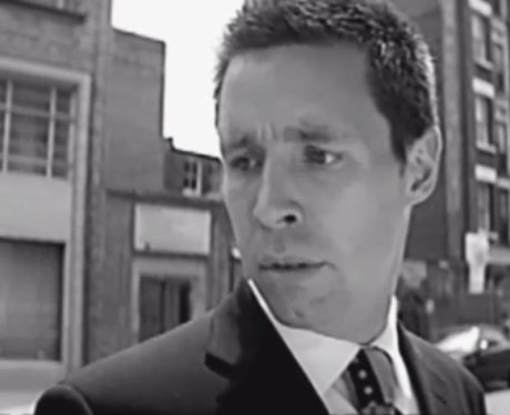 Paddy Considine in Coldplay's 'God Put A Smile On Your Face' video