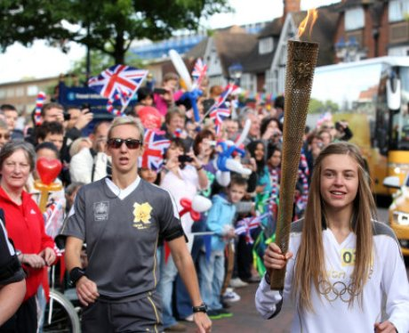 The Olympic Torch Relay Day 44: Leaving Birmingham