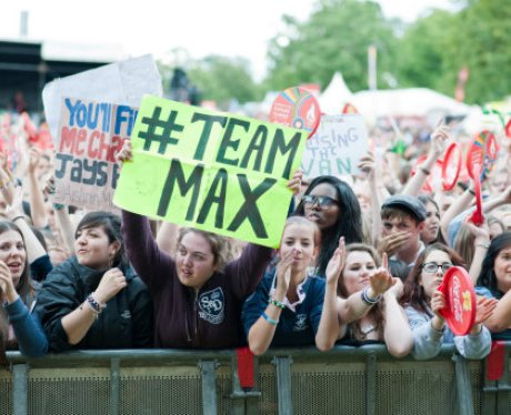 The Wanted's family come out in force