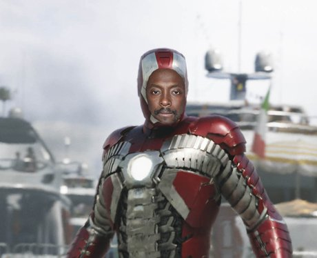 Will.i.am 'Iron Man'