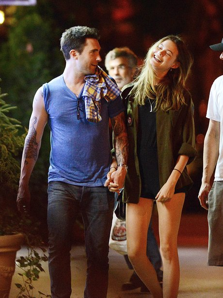 Adam Levine and Girlfriend