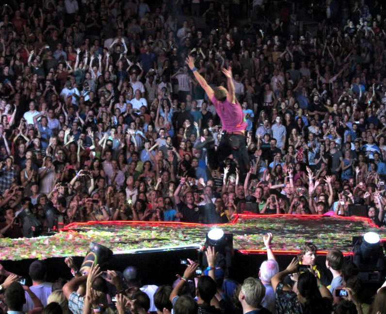 Coldplay live in Washington