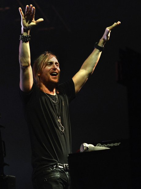 David Guetta performs in Berlin