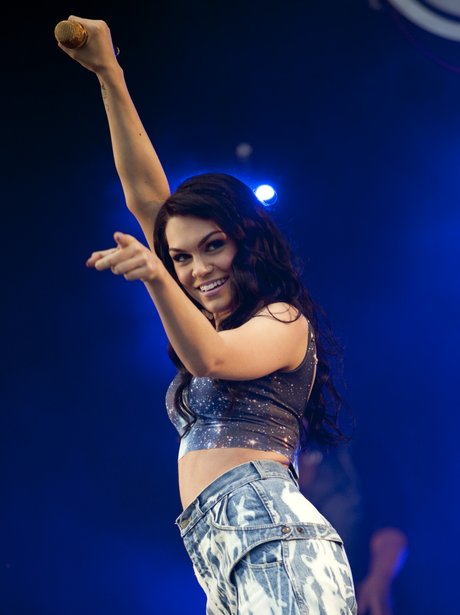 Jessie J Performs at T in the Park
