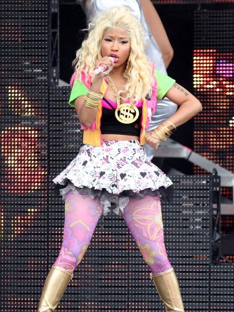 Nicki Minaj Performs At The Wireless Festival