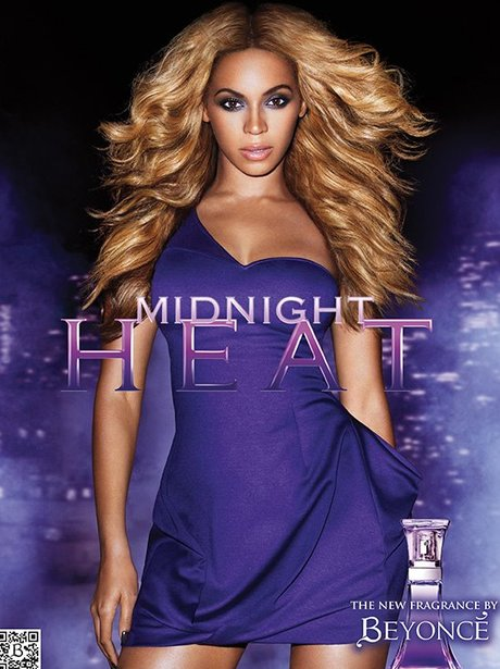 Beyonce 'Midnight Heat' Perfume Ad