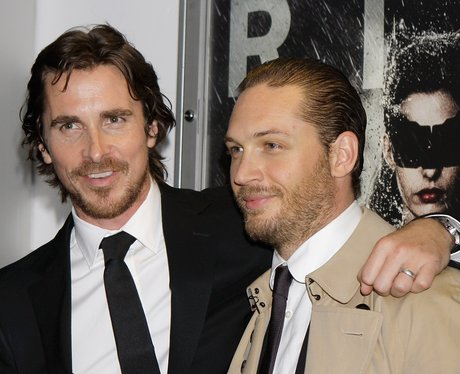 Christian Bale and Tom Hardy 'The Dark Kinght Rise