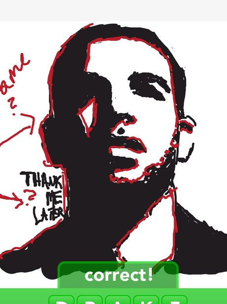Drake on Draw Something