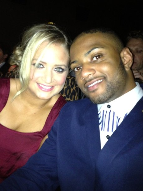JB Gill and Girlifriend