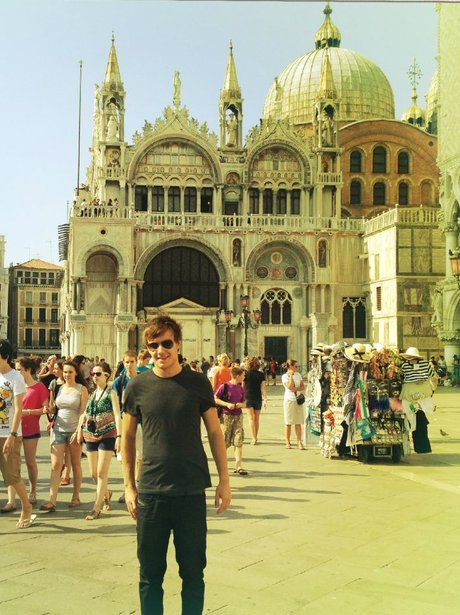 Liam Payne on holiday in Venice