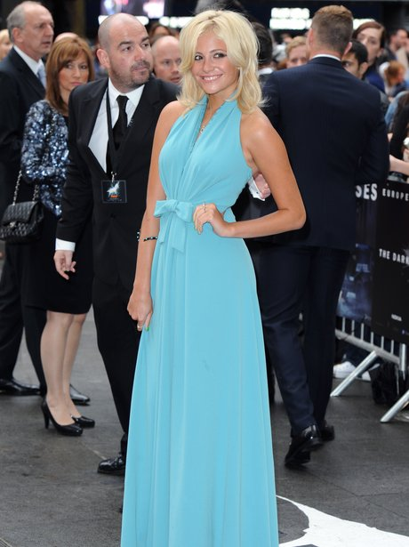 Pixie Lott 'The Dark Kinght Rises' Premiere