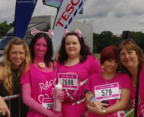 Race for life Cardiff Sunday