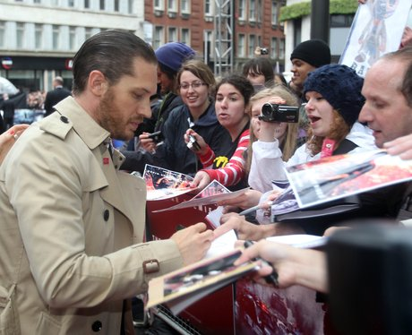 Tom Hardy 'The Dark Kinght Rises' Premiere