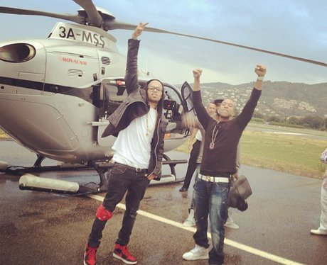 Chris Brown and Ludacris head to cannes