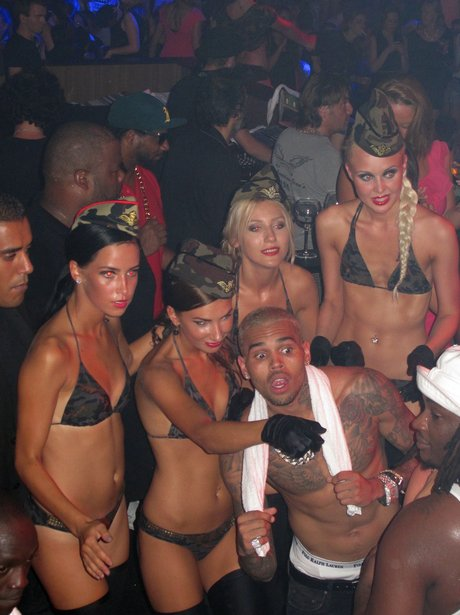 Chris Brown in Cannes