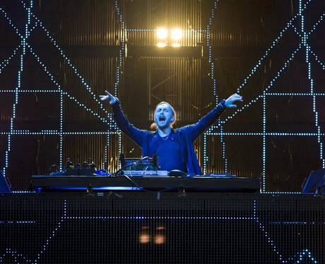 David Guetta performs live in Germany
