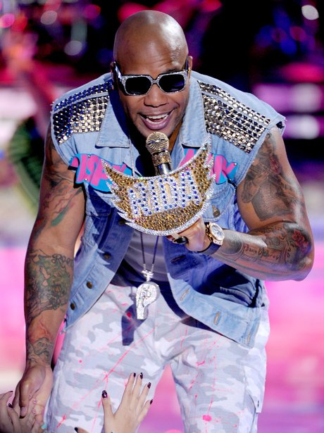 Flo Rida Teen Choice Awards 2012