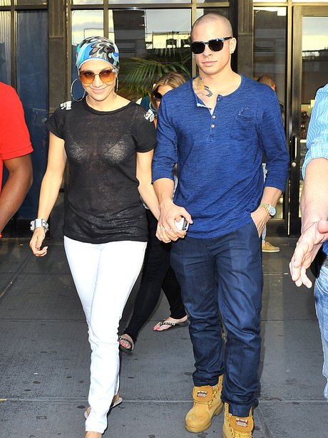 Jennifer Lopez and boyfriend Casper Smart