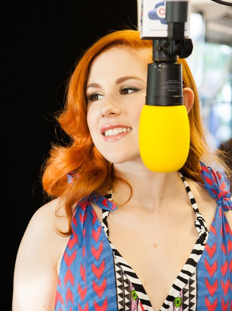 Katy B Coca Cola Olympic Torch Concert On Air Stud
