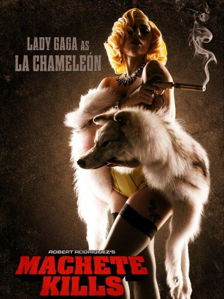 Lady Gaga in Machete Kills.