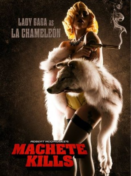 Lady Gaga In Machete Kills Poster