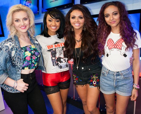 Little Mix at Capital FM for a webchat