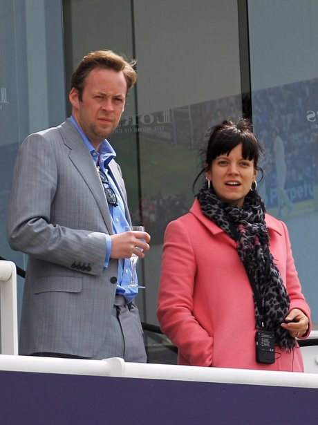 Sam Cooper and Lilly Allen