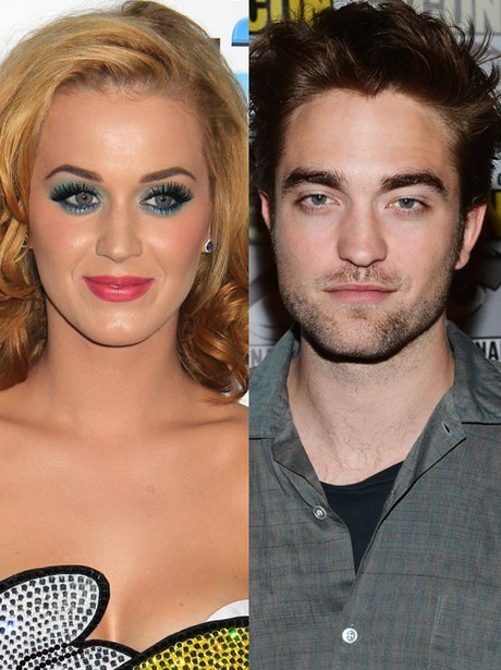 Katy Perry and Robert Pattison