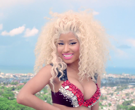Nicki Minaj 'Pound The Alarn' Video