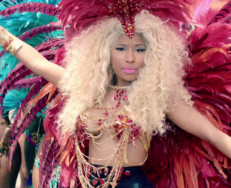Nicki Minaj 'Pound The Alarm' music video