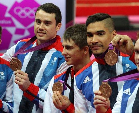 GB's Men's Gymnastics Team