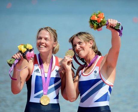 Team GB Gold Medalists Anna Watkins & Katherine Grainger