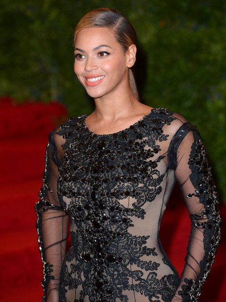 Beyonce on the red carpet
