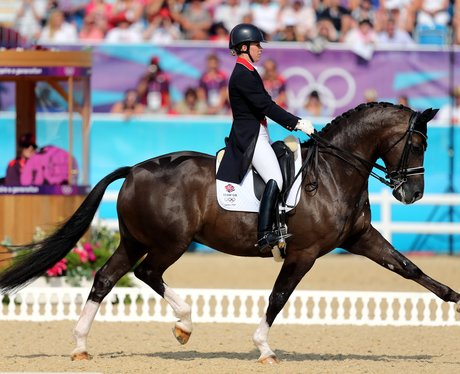 Team GB's Charlotte Dujardin riding Valegro