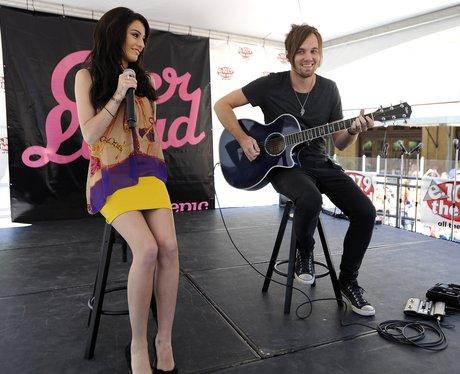 Cher Lloyd performs in California.