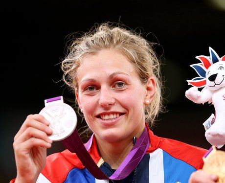 Great Britain's Gemma Gibbons Wins A London 2012 Silver Medal