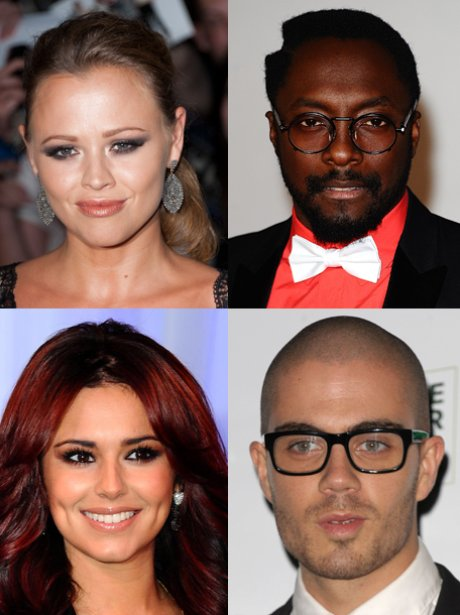 Kimberley Walsh, Will.i.am, Cheryl Cole, Max Georg