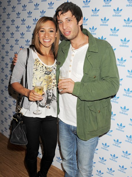 Jessica Ennis and Example together
