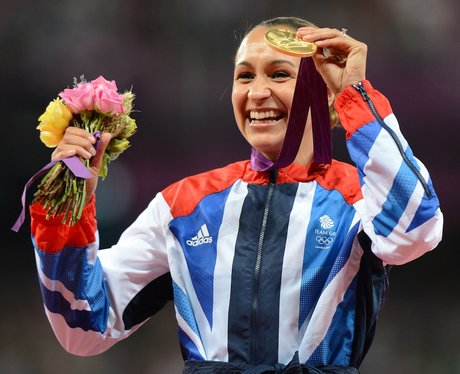 Jessica Ennis London 2012 Medal Ceremony