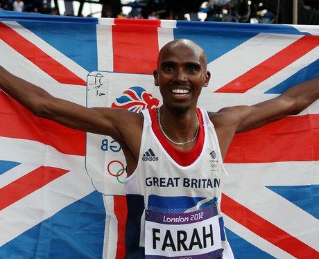 Mo Farah Wins London 2012 Gold Medal