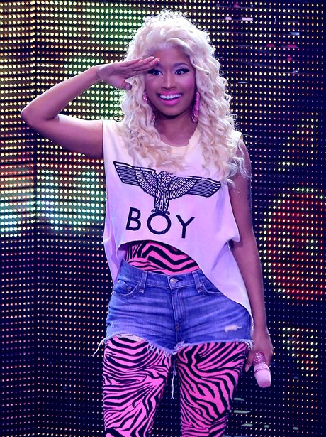 Nicki Minaj performs in Las Vegas.
