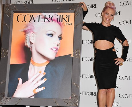 Pink announced as the new face of COVERGIRL.
