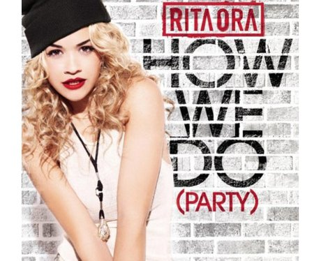 Rita Ora 'How We Do' single cover