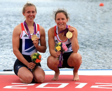 Katherine Copeland and Sophie Hosking Win Olympic Gold