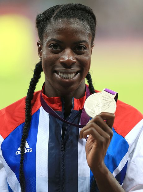 Christine Ohuruogu Wins Silver In The 400m At The London 2012 Olympic Games