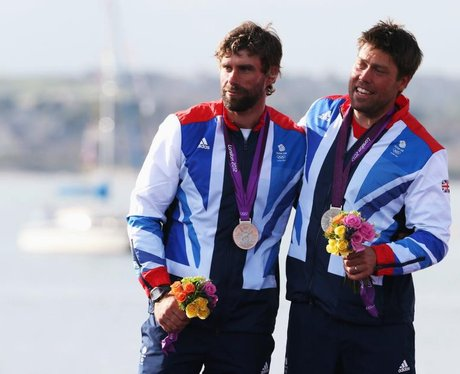 Iain Percy And Andrew Simpson Sailing 2012