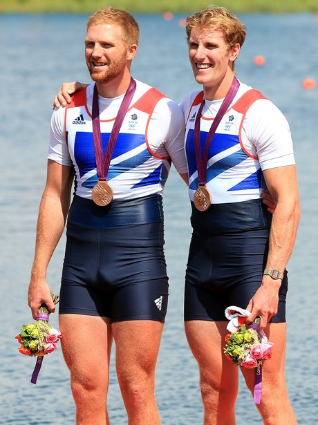 George Nash And William Satch Win Rowing Bronze Medal