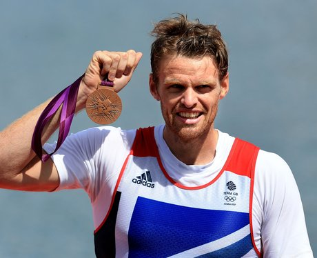 Great Britain's Alan Campbell Wins A Bronze Medal At The London 2012 Olympic Games