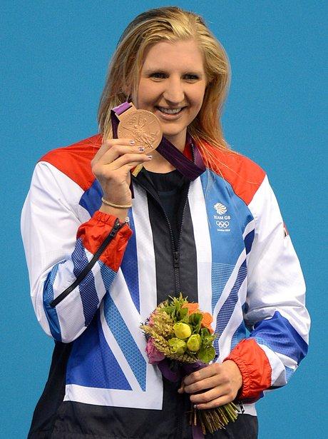 Rebecca Adlington Wins Bronze At The London 2012 Olympic Games